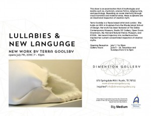 Lullabies and New language flyer